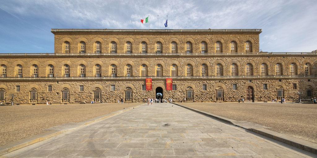 audioguida Palazzo Pitti