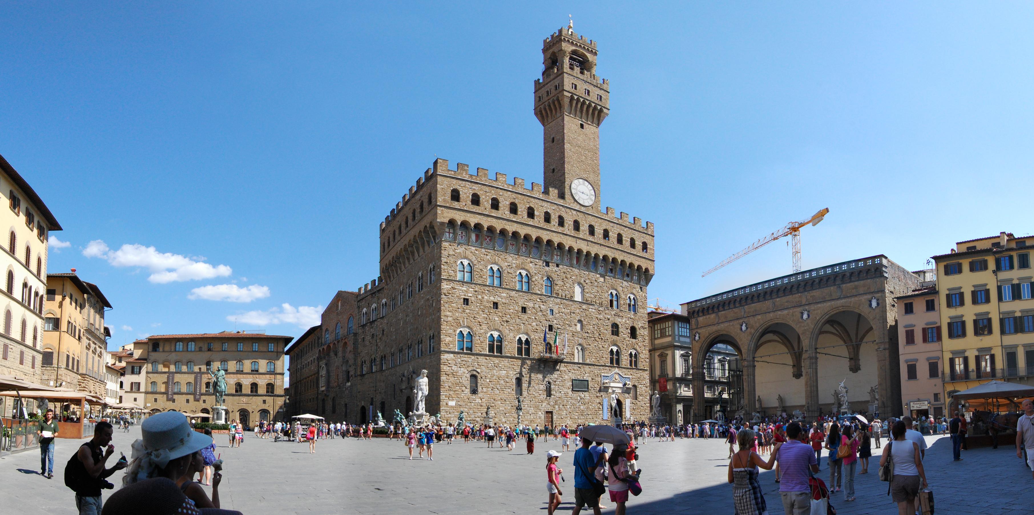 audioguida Piazza della Signoria