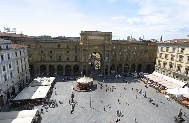 audioguida Piazza della Repubblica