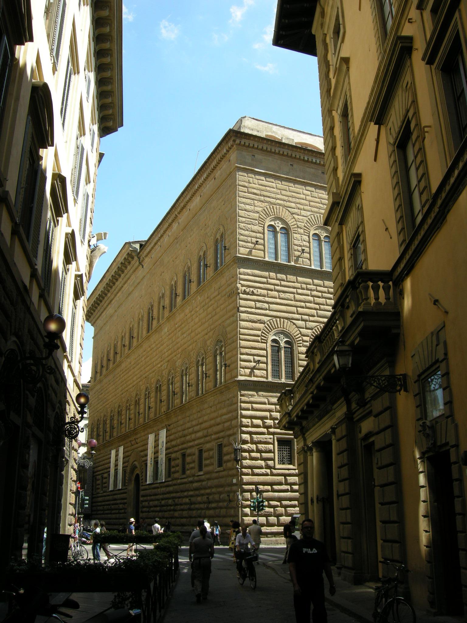 audioguida Palazzo Strozzi