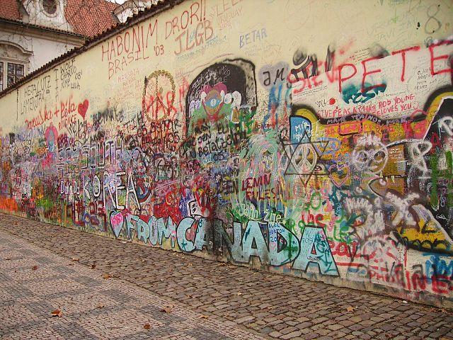audioguida Muro di Lennon