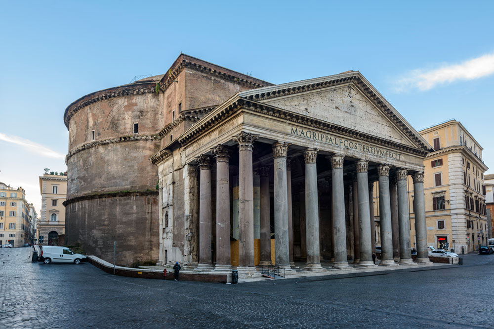 audioguida Pantheon
